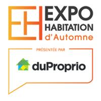logo Salon Habitation d'automne Montréal 2019 en collaboration avec duProprio