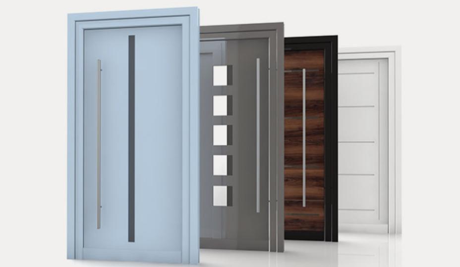 exemples de portes en composite