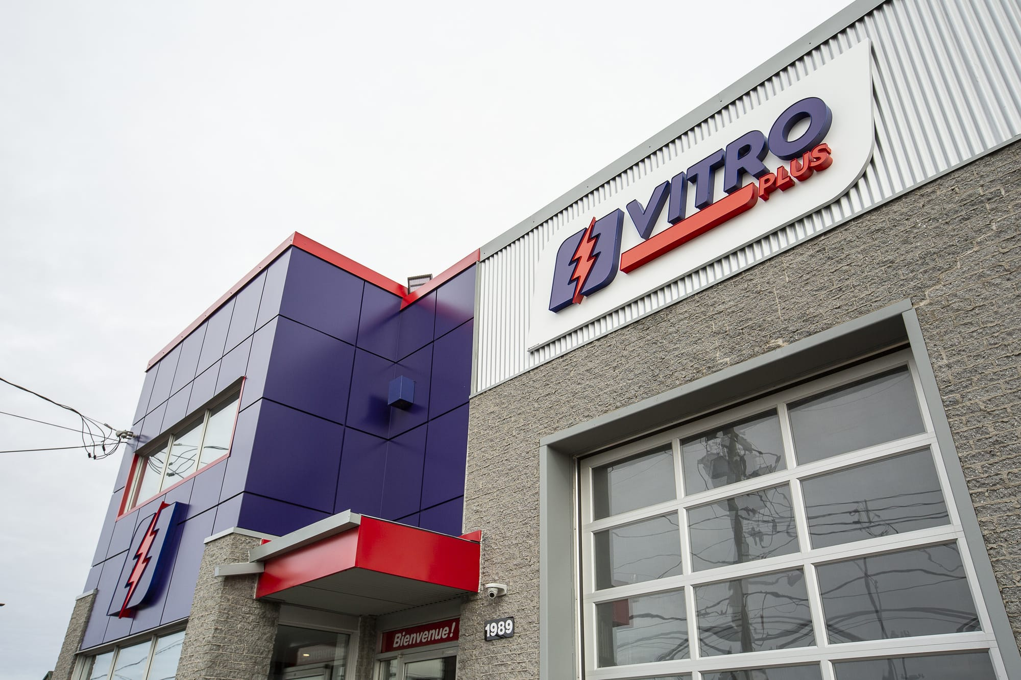 commercial renovation - building Vitro Plus