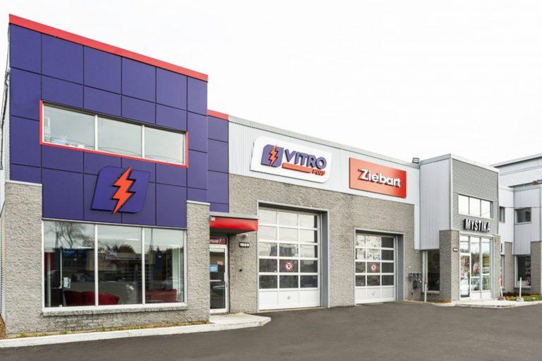 Vitro Plus | Réfection extérieur bâtisse commerciale