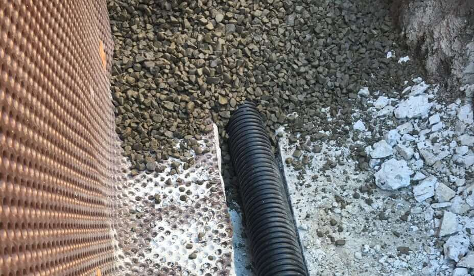 french drain replacement