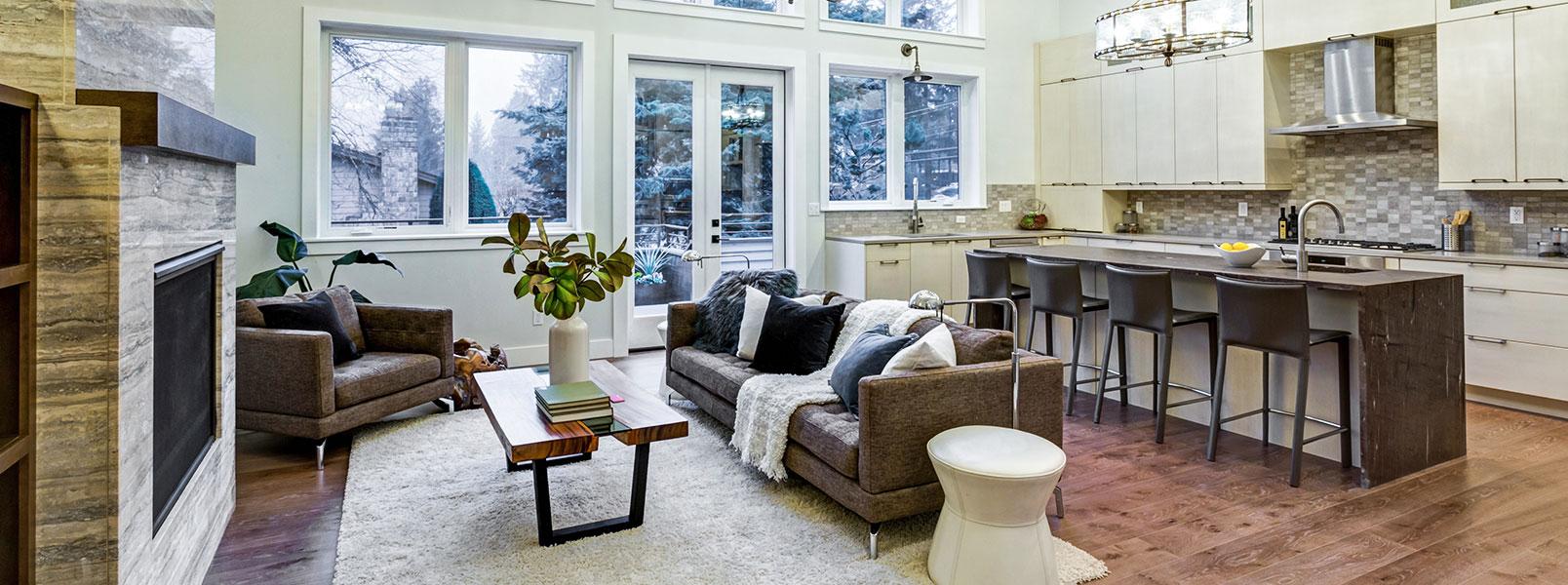 Salon Et Cuisine Aire Ouverte concept à aire ouverte: comment transformer votre maison?