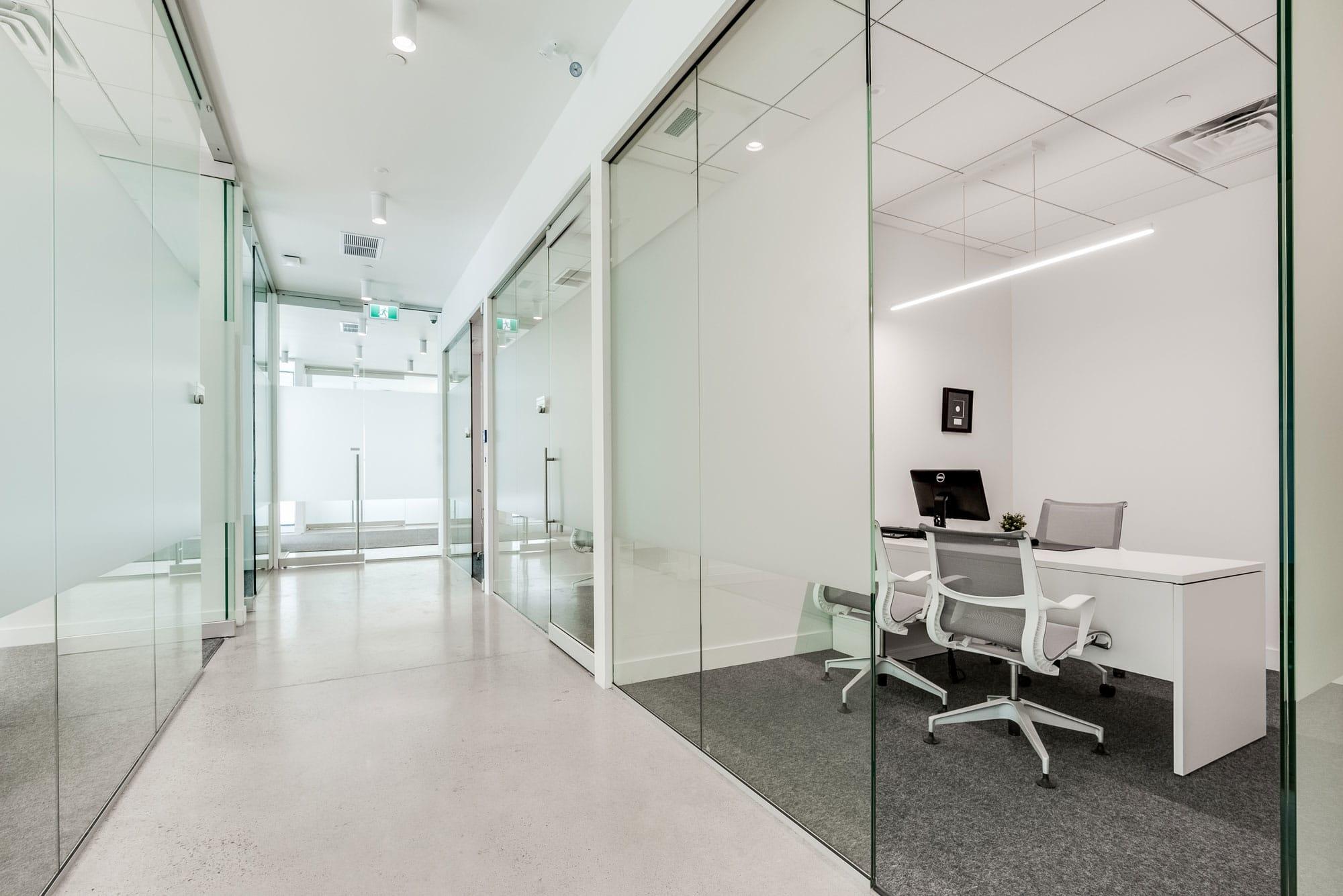 rénovation dans les bureaux d'une entreprise