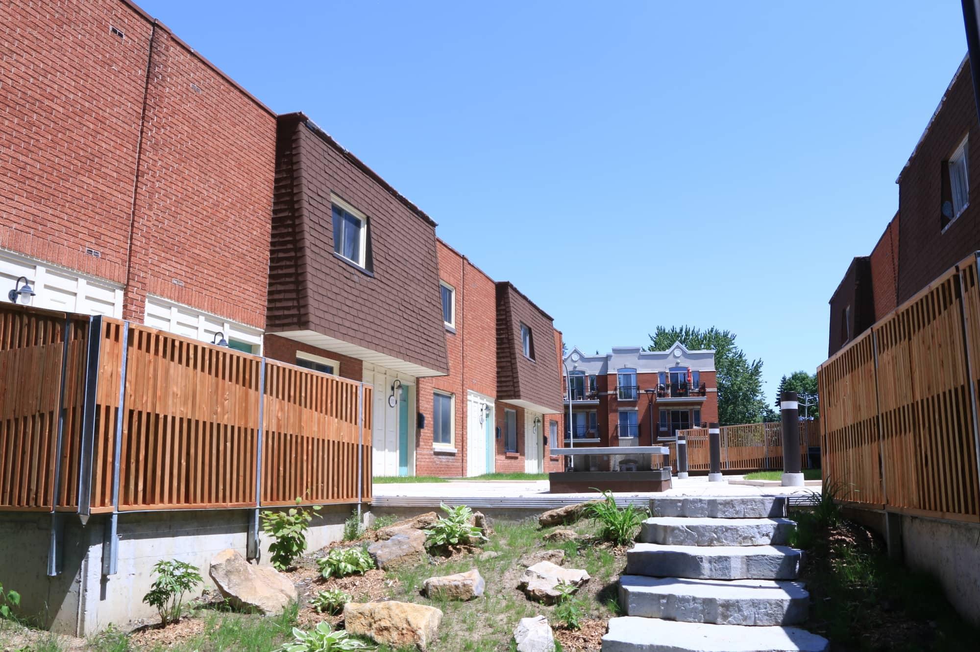 aménagement extérieur d'un toit-terrasse d'une copropriété
