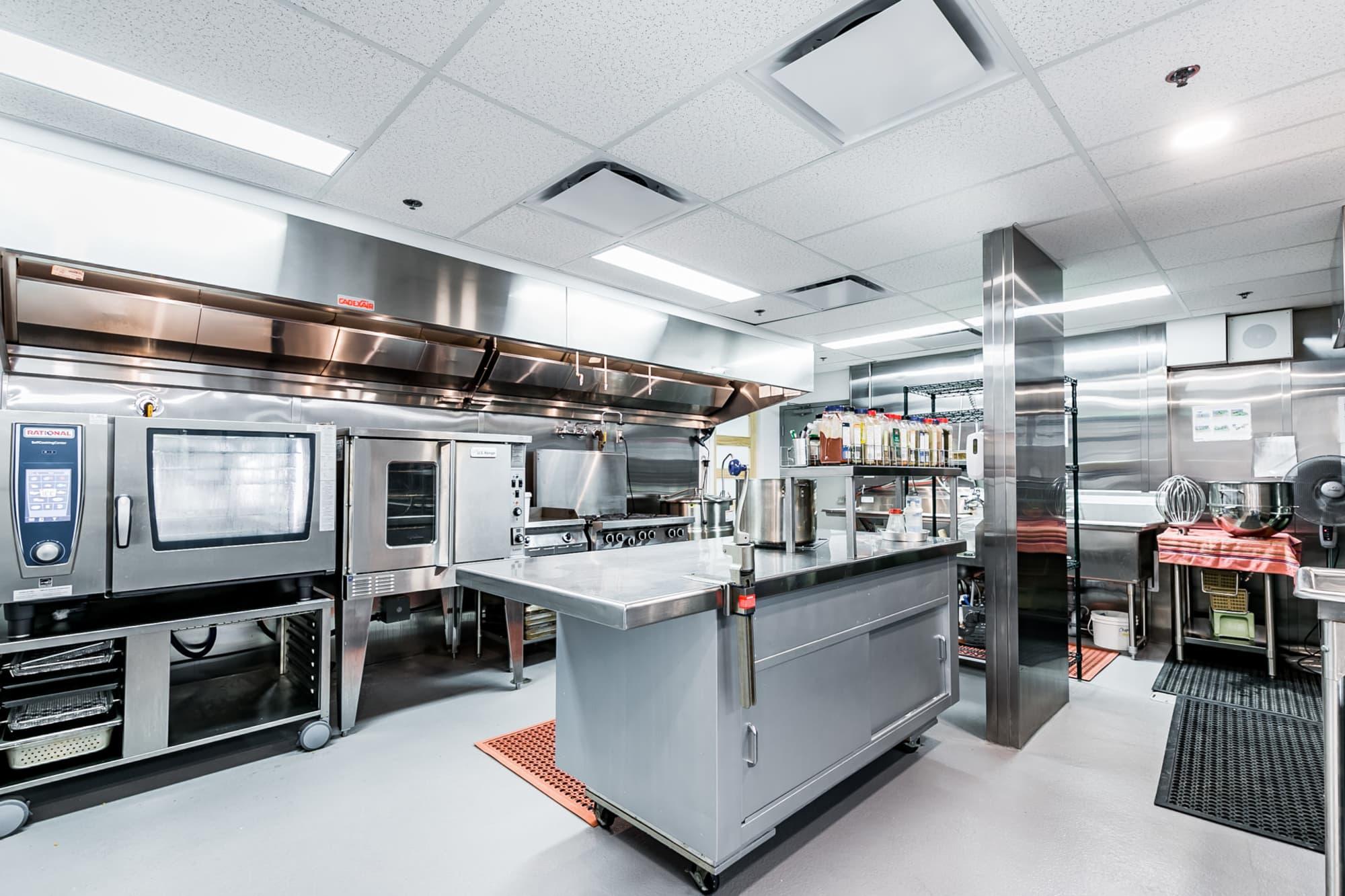 cuisine industrielle équipée