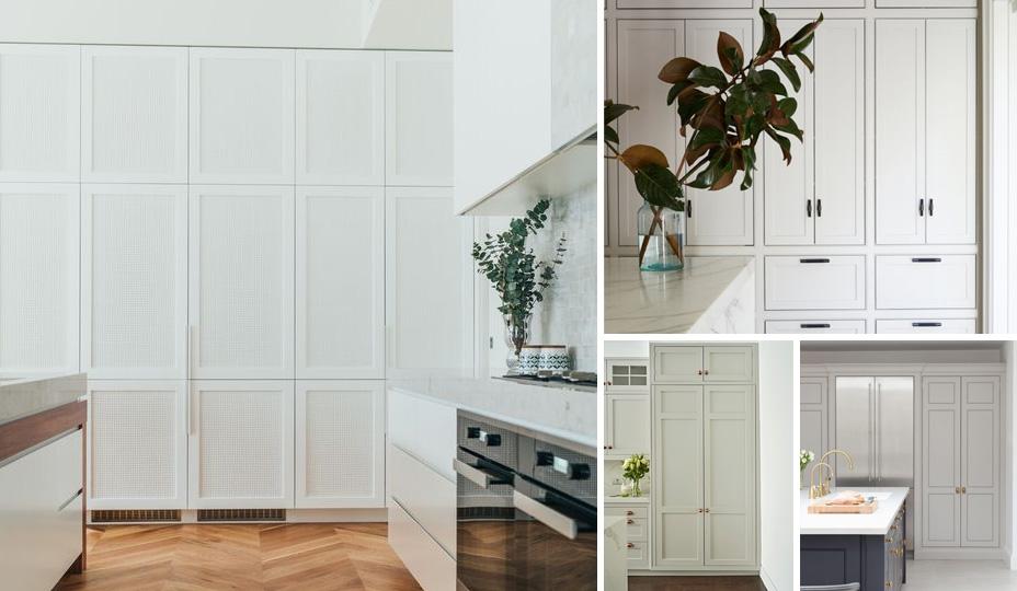 cuisines avec mur d'armoires