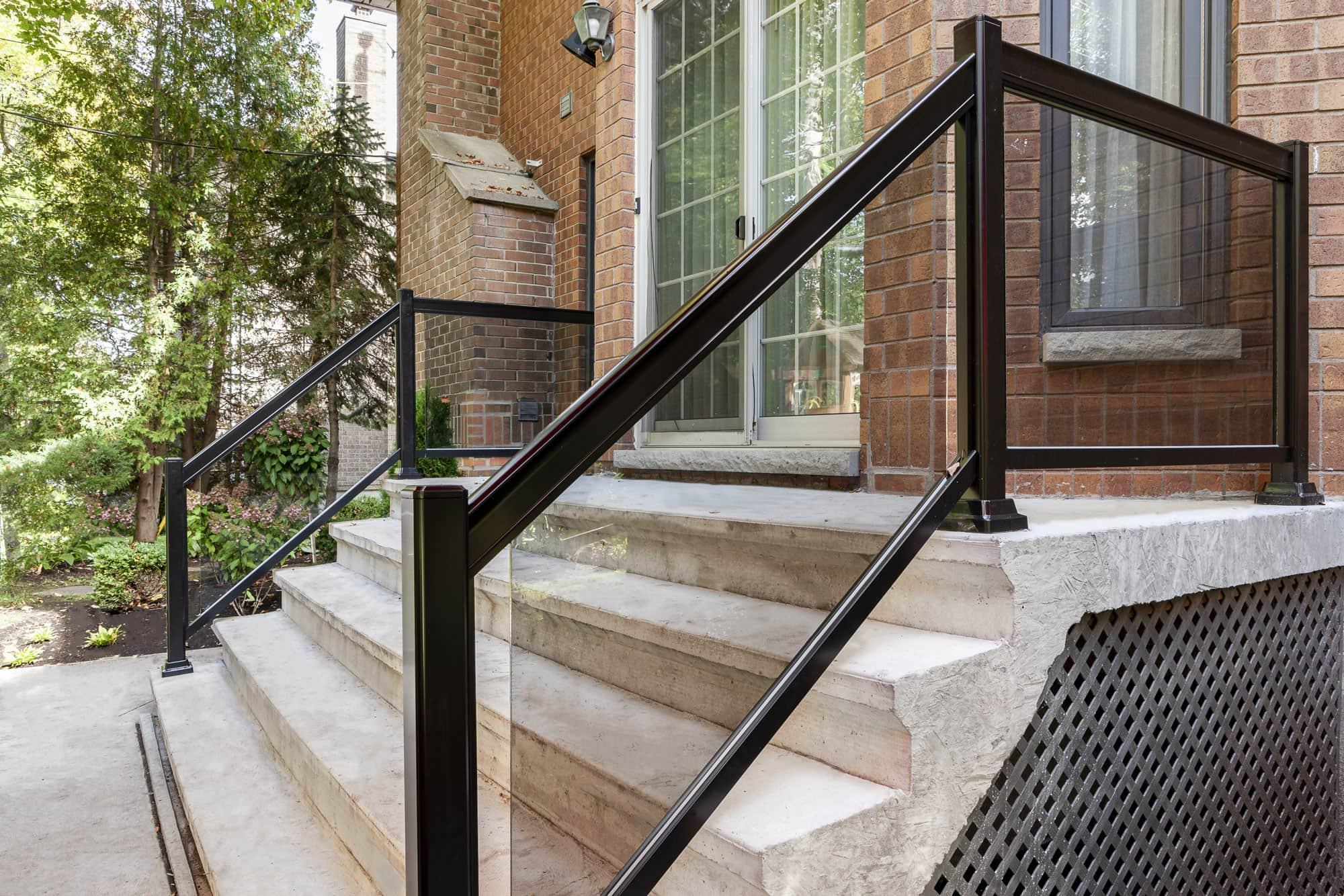 Escalier Beton Exterieur Prix exemple de balcon et terrasse en béton   photos avant/après
