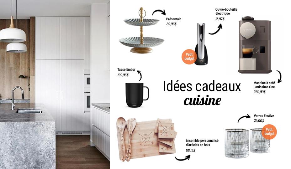 cuisine idée cadeaux de maison