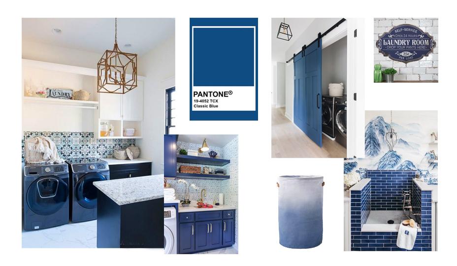 couleur pantone salle de lavage