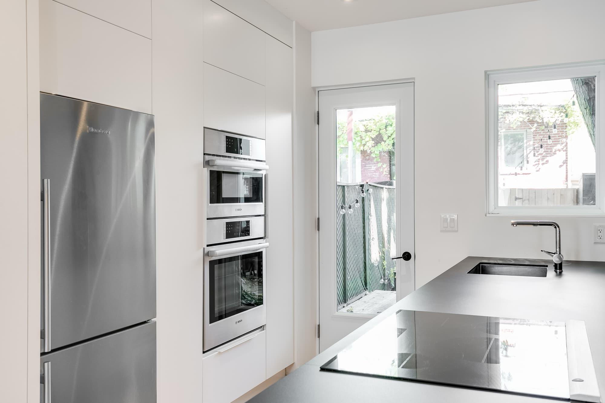 design cuisine moderne blanche