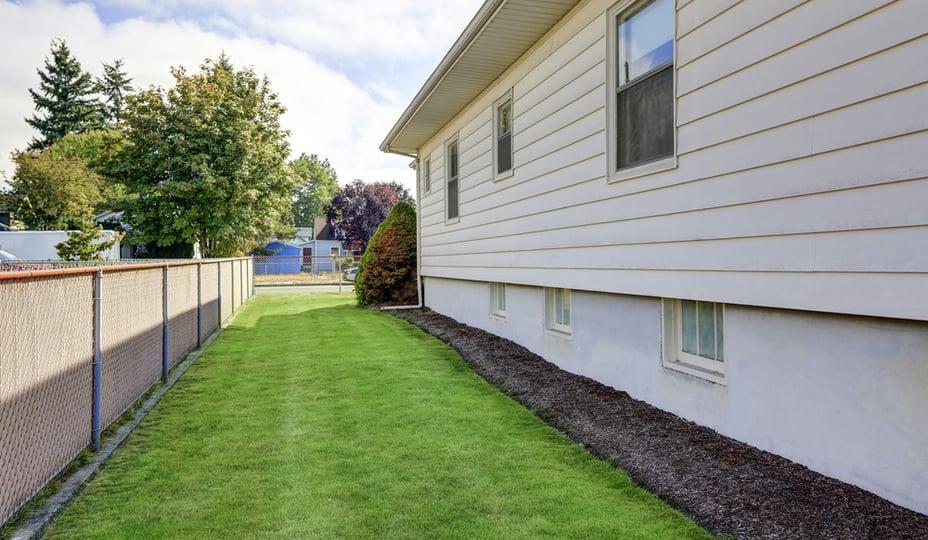 exterior siding of home