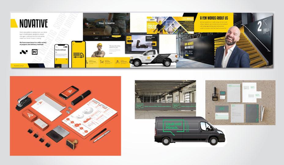 overall company branding