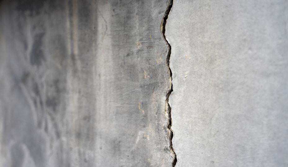 cracked foundation - building envelope problems