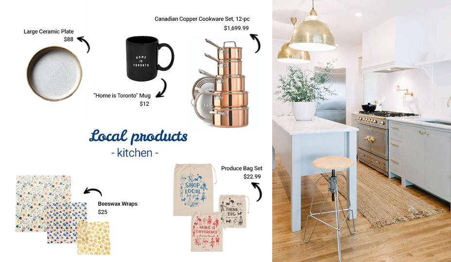 toronto local products for the kitchen