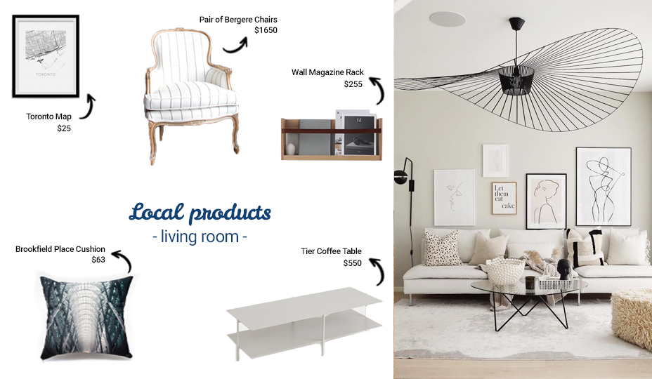 toronto products for the living room