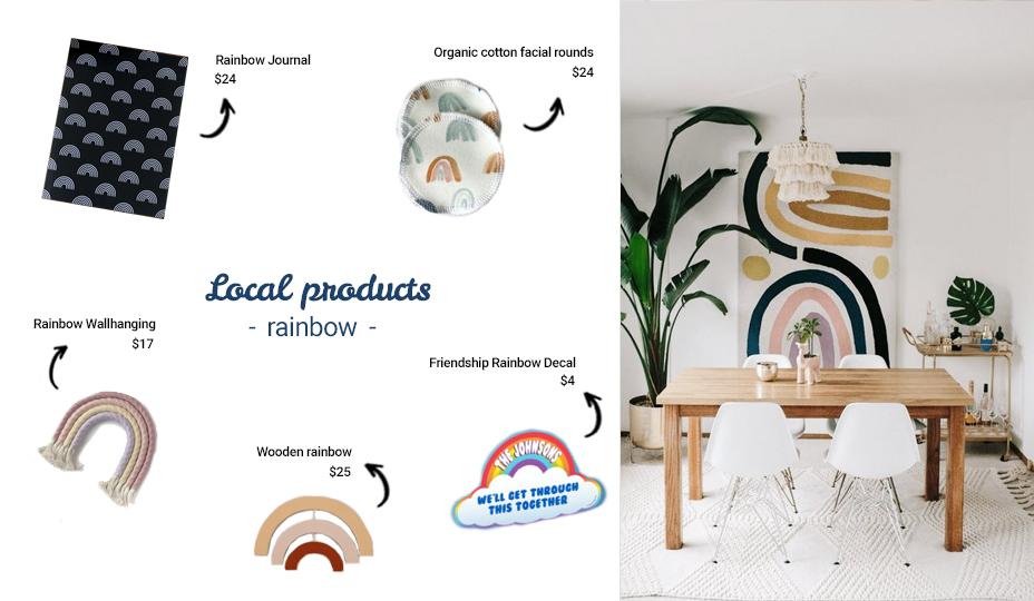 local product rainbow