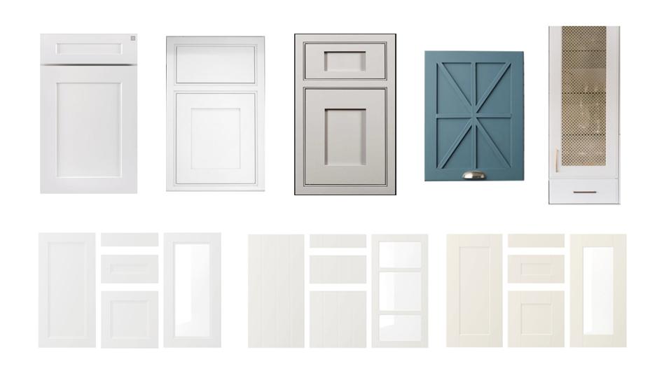 armoire de cuisine de style farmhouse