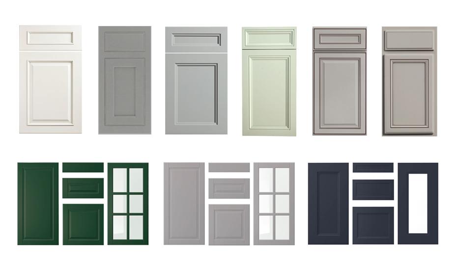 porte d'armoire de style classique et traditionnel