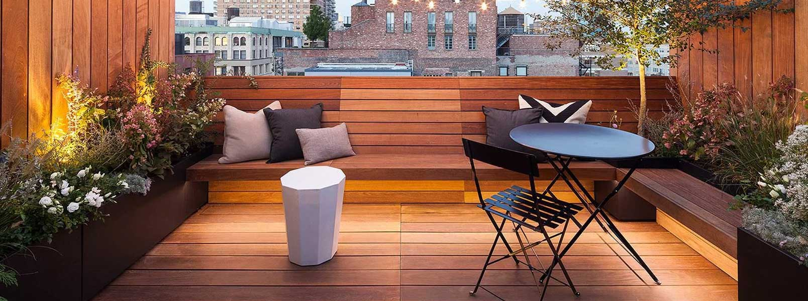 Building A Rooftop Urban Patio to Make the Most of Summer