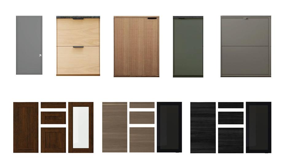 style d'armoire moderne