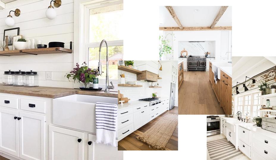 cuisine de style farmhouse