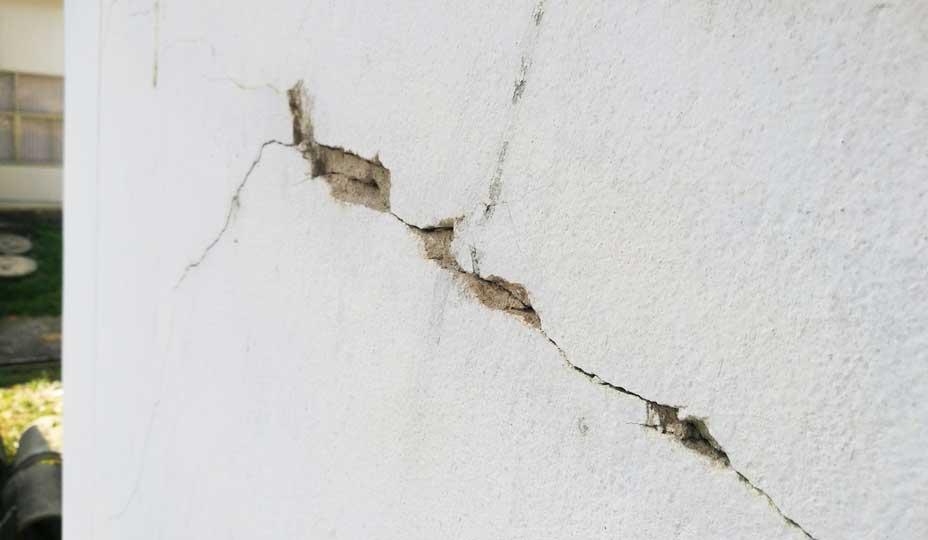 fissures de fondation