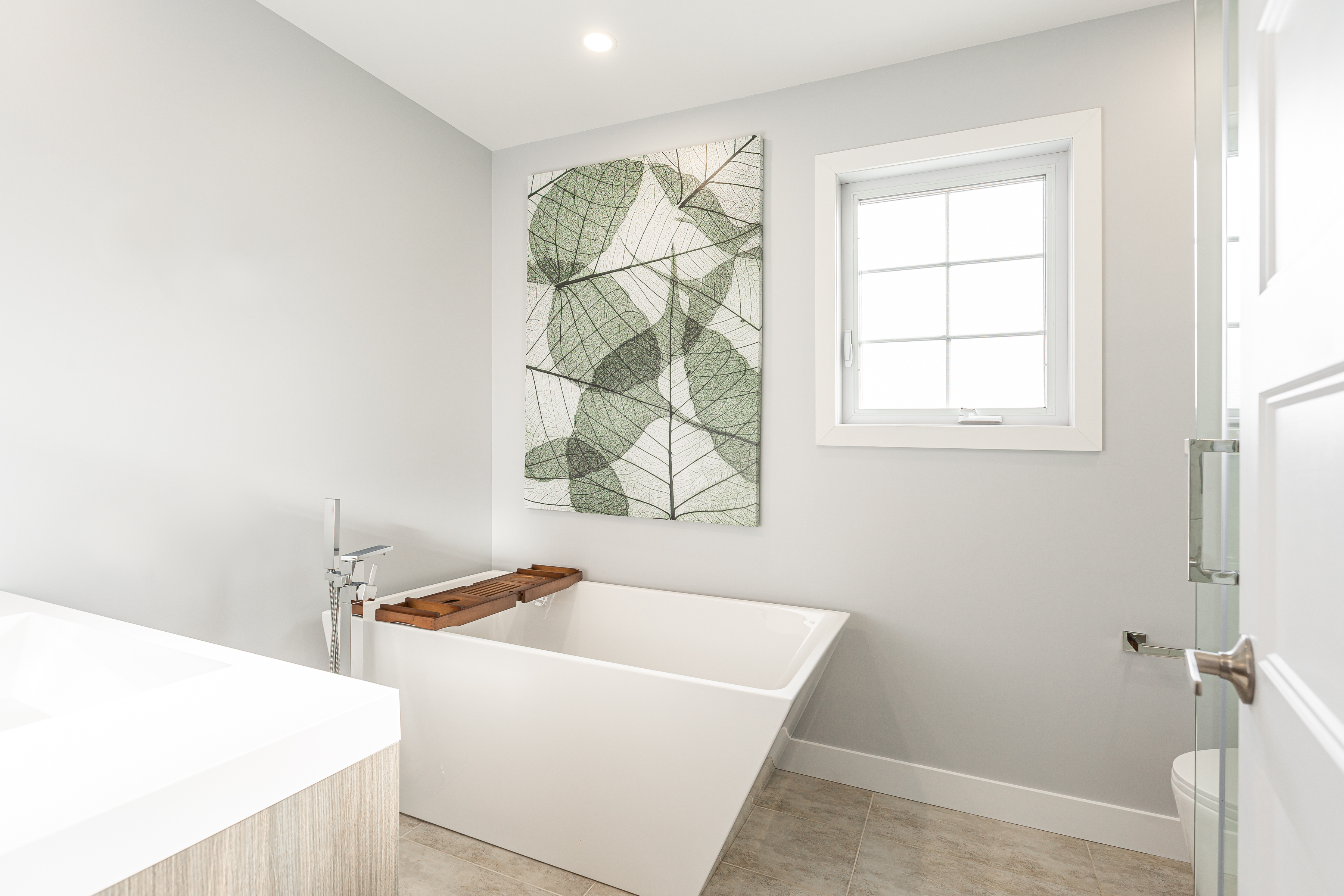 salle de bain – baignoire autoportante