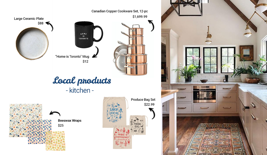 Local products for your kitchen decoration