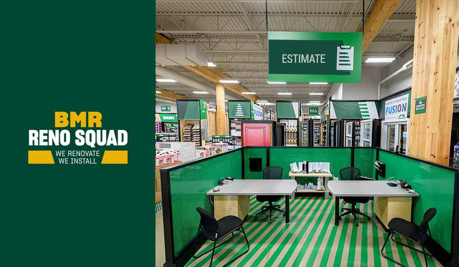 bmr-reno-squad spot in one of their store - partnershis renoassistance bmr
