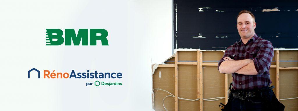 RénoAssistance et Groupe BMR s'associent pour des rénovations réussies