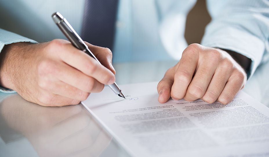 person sign the seller declaration