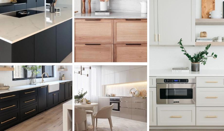 inspirations d'armoires de cuisines modernes