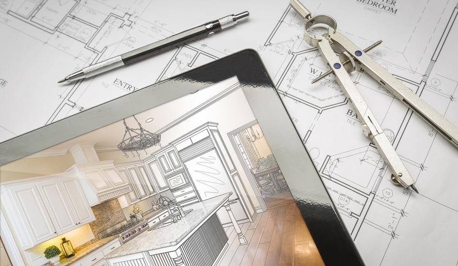 plan pour rénovation majeure de cuisine