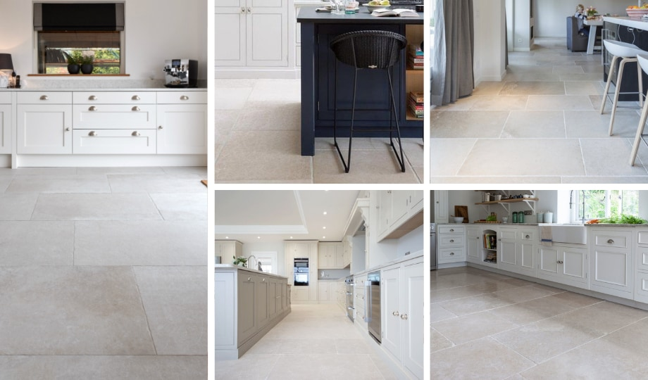 pierre calcaire pour plancher de cuisine